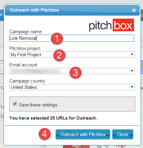 simple steps to push to pitchbox
