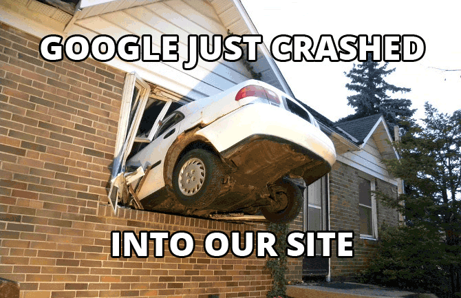 Google crash