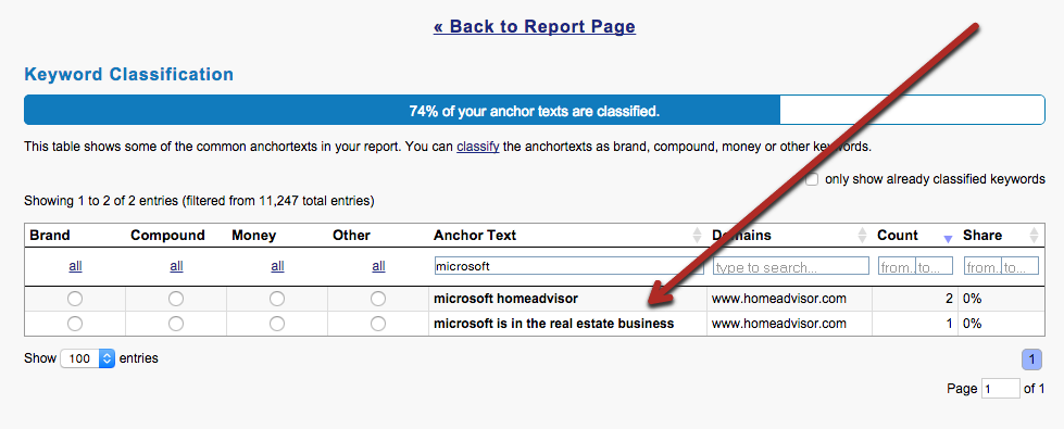 Microsoft Homeadvisor and Microsoft is in the real estate business in historical homeadvisor.com anchors