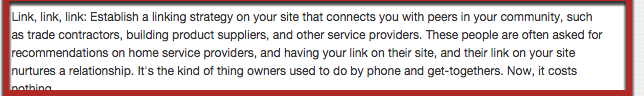 Link, link, link: Establish a linking strategy on your site