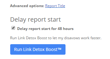 Delay DTOX Boost start for 48 hours