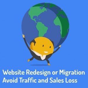 Website Redesign or Migration - Avoid Traffic and Sales Loss