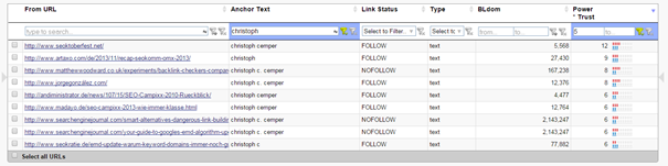 Search for Link Data really fast with LinkResearchTools